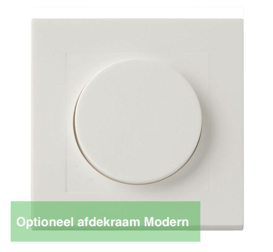 LED dimmer Fase af- en aansnijding - Geschikt voor alle dimbare LED-verlichting tot max. 300W