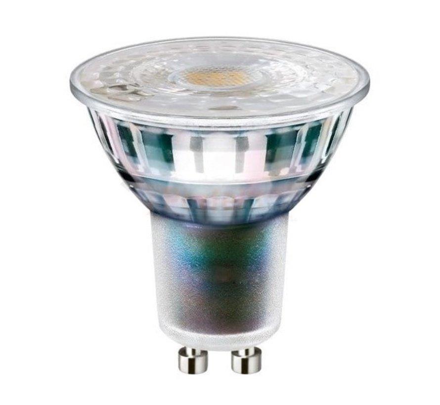 LED inbouwspot set 3 stuks dimbaar - Badkamer IP44 - Wit Rond 5,5W 4000K helder wit licht - inbouwmaat 74mm