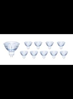 Voordeelpak 10 stuks - GU5.3 LED spots - 3W vervangt 25W - Lichtkleur optioneel