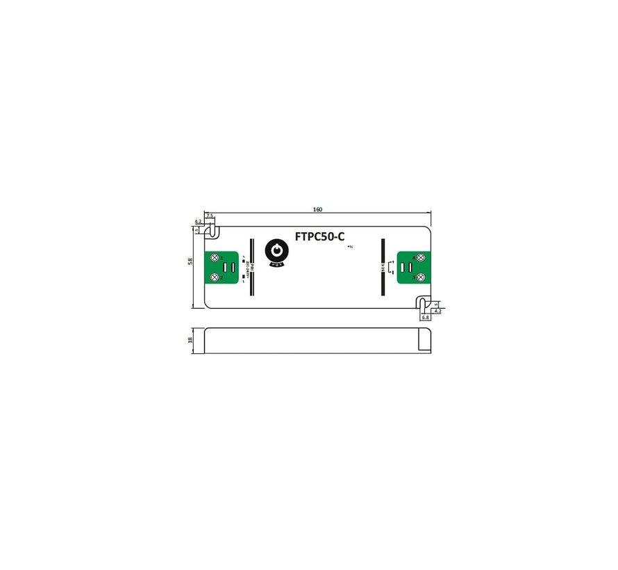 LED voedingsadapter dimbaar - 12V 30W 2.5A - geschikt voor 12V LED-verlichting