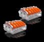 2 stuks Conex Lasklemmen kabelverbinders - 5 polig 0,5 tot 4mm²