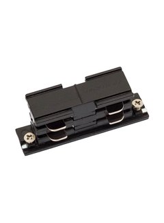 LED Spot Rail connector zwart - koppelstuk - Universeel 3-Phase