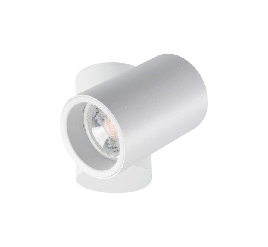 LED GU10 plafondspot verstelbaar wit - Enkelvoudig voor 1 LED GU10 spot