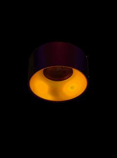 Kanlux LED GU10 plafondspot wit goud rond - Enkelvoudig voor 1 LED GU10 spot
