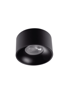 Kanlux LED GU10 plafondspot zwart rond - Enkelvoudig voor 1 LED GU10 spot
