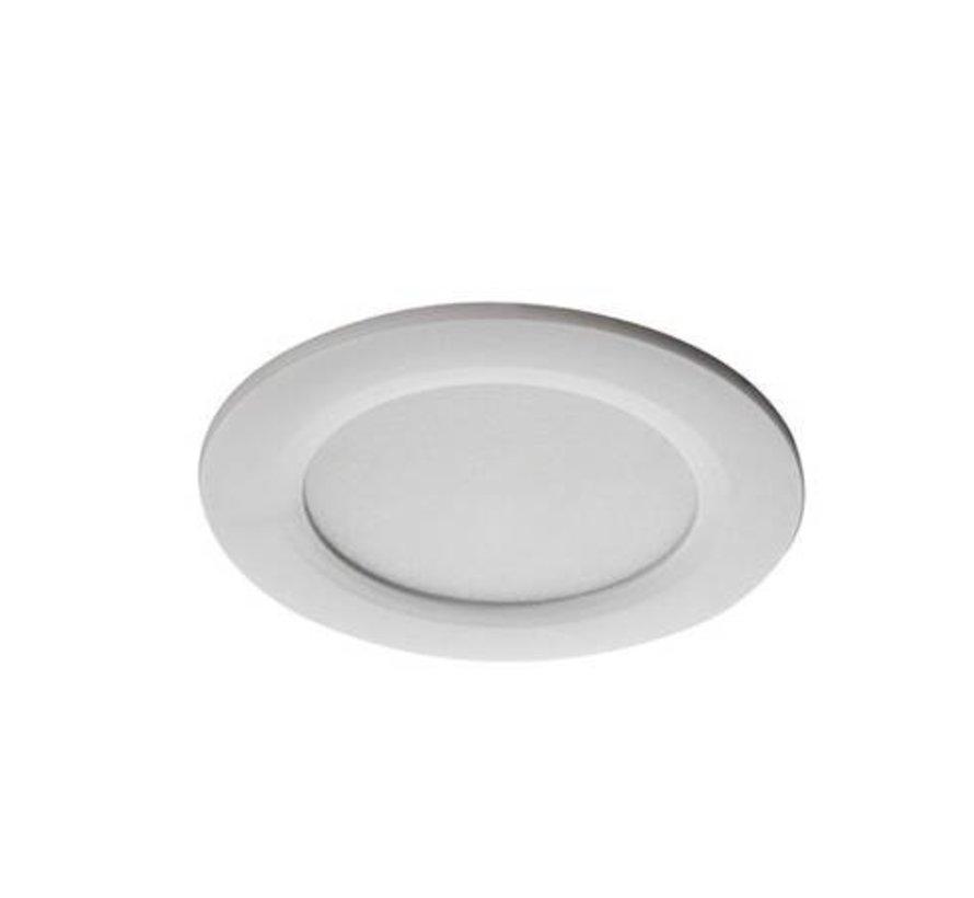 LED inbouwspot wit IP44 - 4,5W 3000K warm wit licht - zaagmaat 65mm buitenmaat 83mm