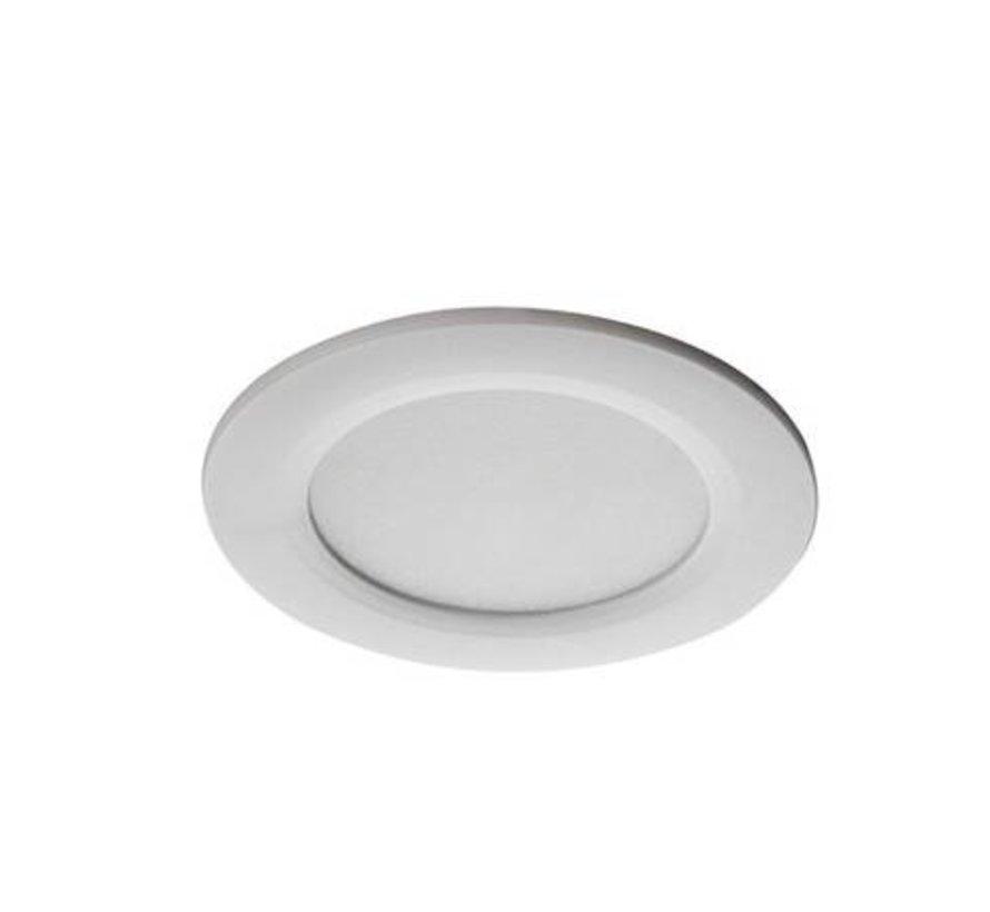 LED inbouwspot wit IP44 - 4,5W 4000K helder wit licht - zaagmaat 65mm buitenmaat 83mm