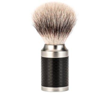 Muhle Rocca Scheerkwast Silvertip Fibre Zwart