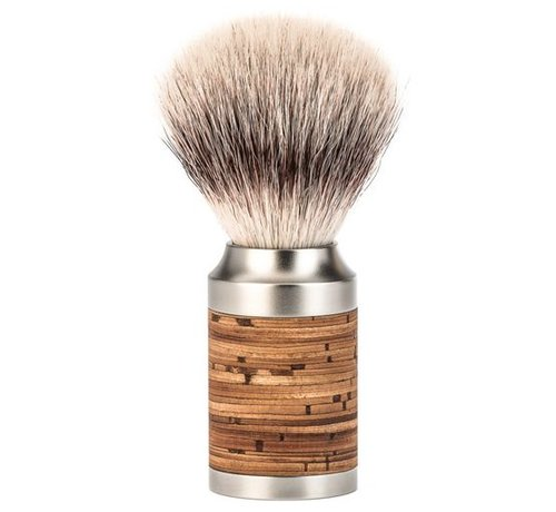 Muhle Rocca Scheerkwast Silvertip Fibre Berk