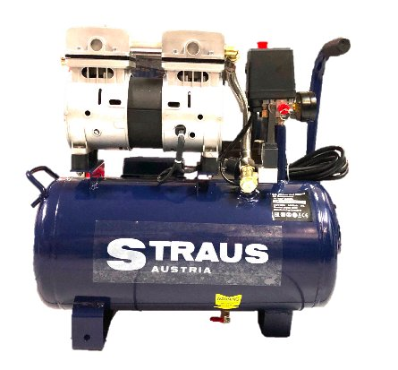 Straus Compressor Olievrij Silent+ 24l