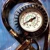 Straus Bandenvulpistool met manometer 16 bar