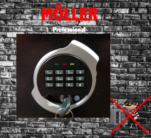 Möller Elektronische Safe + noodsleutel