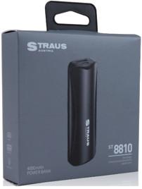 Straus PowerBank COMPACT+ 4.000mAh LED-lamp