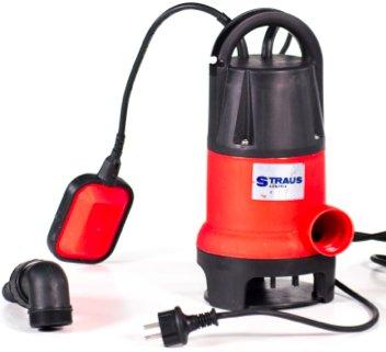 Straus Dompelpomp vuil water 400W 8500 l/uur