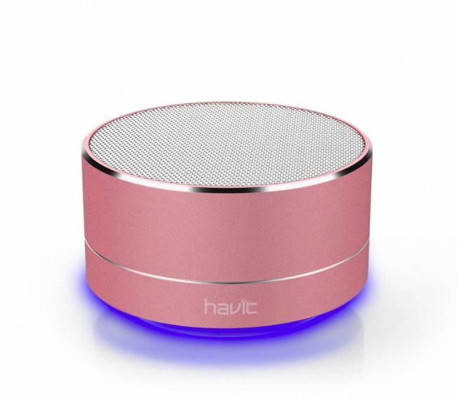 Havit Bluetooth Speaker Draadloos LED-verlichting + GRATIS Oplaadkabel iPhone / Samsung / Android