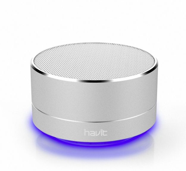 Havit Bluetooth Speaker Draadloos LED-verlichting + GRATIS Oplaadkabel iPhone / Samsung / Android