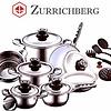 Zurrichberg Pannenset + Kookgerei 19-delig RVS