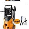 Straus Hogedrukreiniger + 4 accessoires 2500W 5m