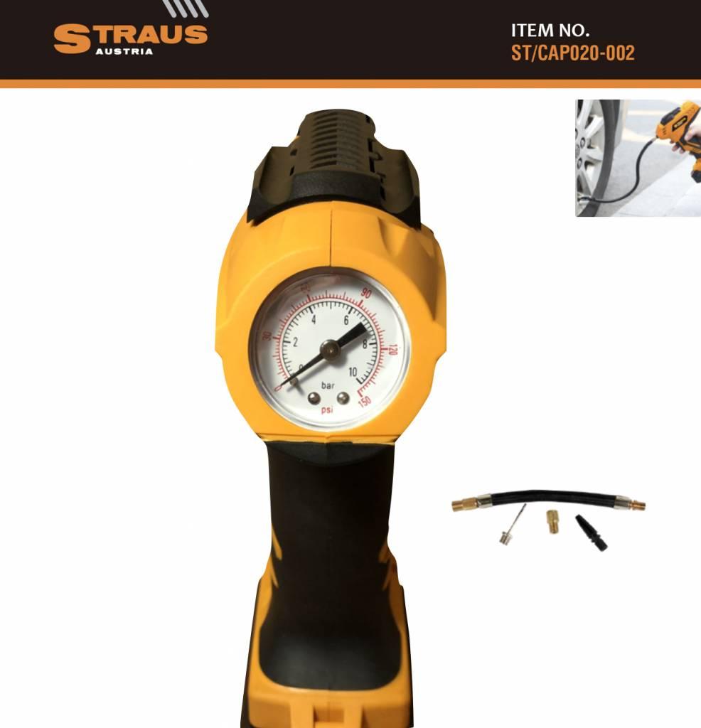 Straus Accu Handcompressor 20V luchtdrukpomp