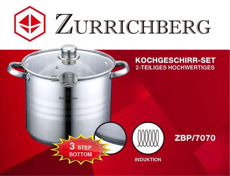 Zurrichberg Kookpan RVS 11.1 liter Large