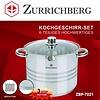 Zurrichberg Pannenset 6-delig Medium RVS