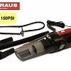 Straus Draagbare Stofzuiger + Compressor + LED-lamp 3-in-1