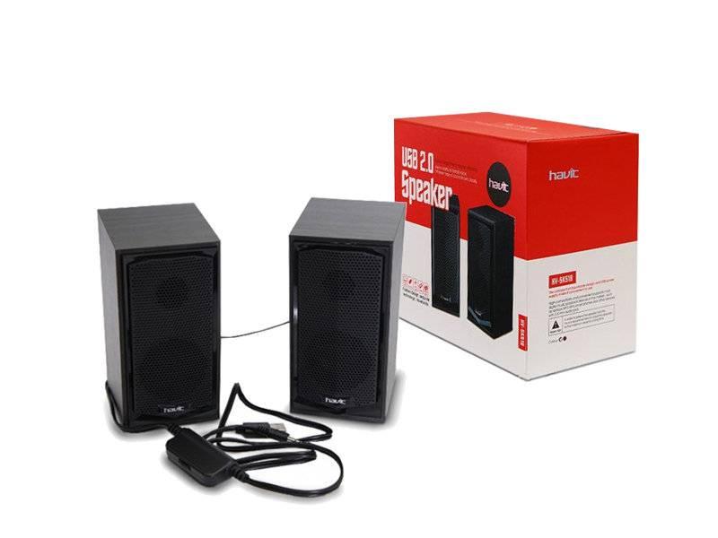 Havit Sensitive 2.0 Speakers Luidsprekers USB - 2 stuks