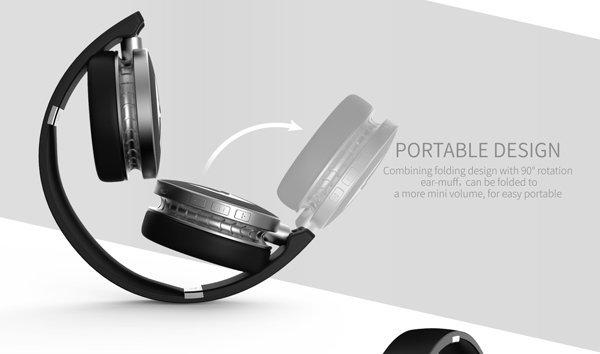 Havit Stereo Bluetooth Koptelefoon Draadloos met Microfoon