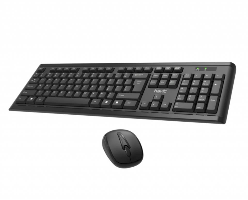 Havit Draadloze Toetsenbord en Muis Set QWERTY KB653GCM