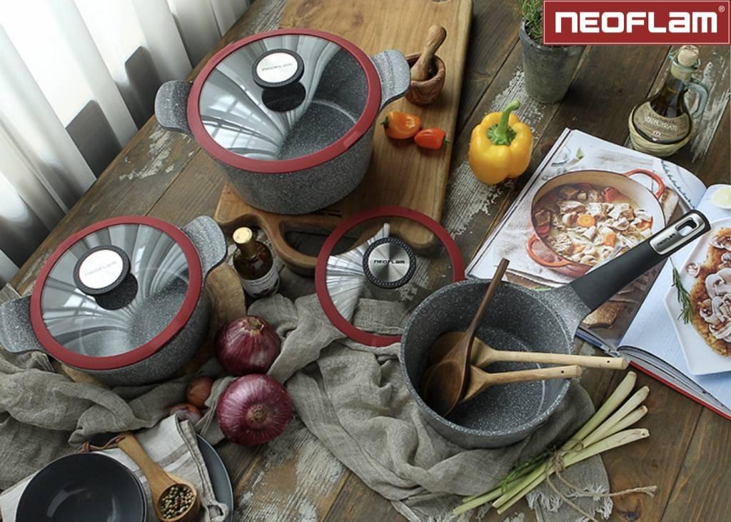 Neoflam Kookpan Gegoten Aluminium met Keramische Coating 26cm Premium