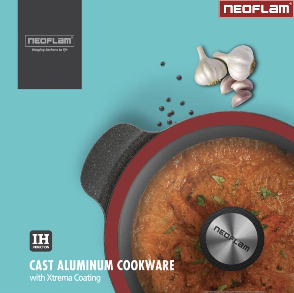 Neoflam Kookpan Gegoten Aluminium met Keramische Coating 28cm Premium