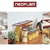 Neoflam Smart Seal Opbergdoosjes Rechthoekig 5-delig