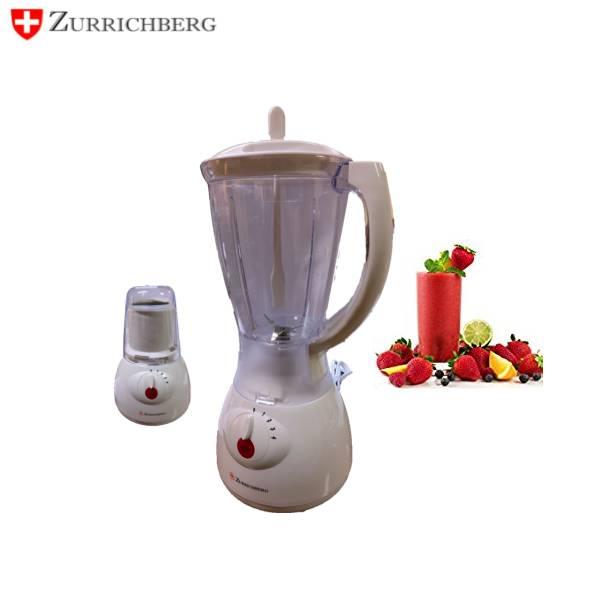 Zurrichberg Pannenset 6-delig + Messenset 6-delig + Blender 1000W Bundel Combo