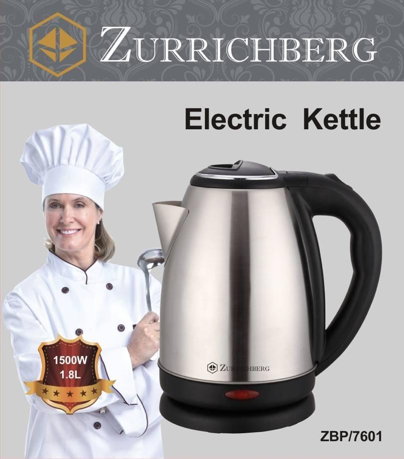 Zurrichberg Elektrische Waterkoker 1,8 liter