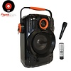 PowerBase Stronger Accu Karaoke Speaker 850W Draadloos Bluetooth