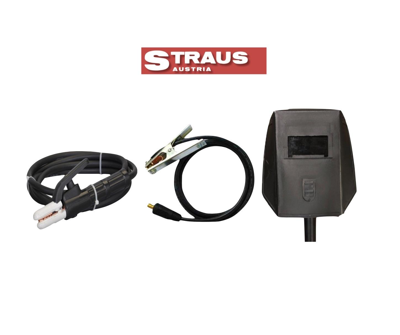 Straus Elektrode Lasapparaat MMA Inverter 300A incl. Lashelm
