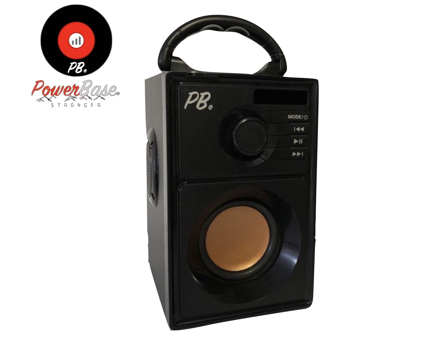 PowerBase Stronger Accu Speaker Karaoke 600W Draadloos Bluetooth LED-effect