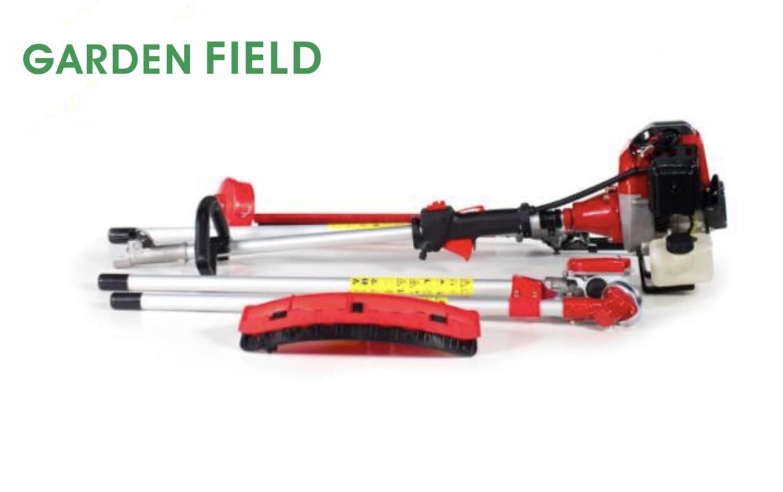 GardenField 52cc Multitool 4-in-1 Heggenschaar + Kettingzaag + Grasschaar + Bosmaaier 3,5pK