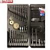 Straus Accu-schroefboormachine 24V Li-Ion + Boorbitset 92-delig met 2 accu's LED