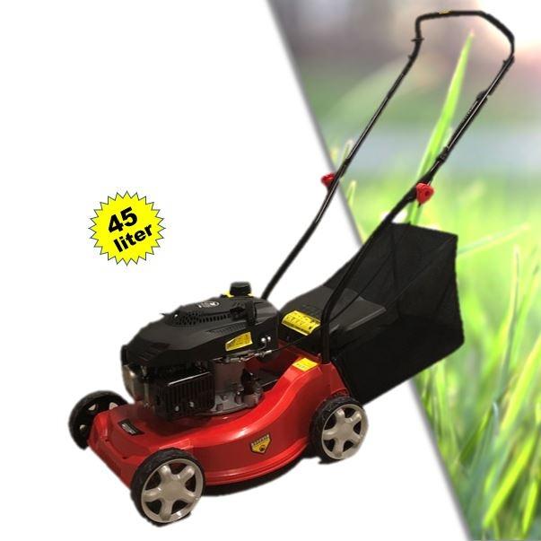 Garden Field Benzine Grasmaaier 3,0pK 99cc 4-takt met 45L opvangzak