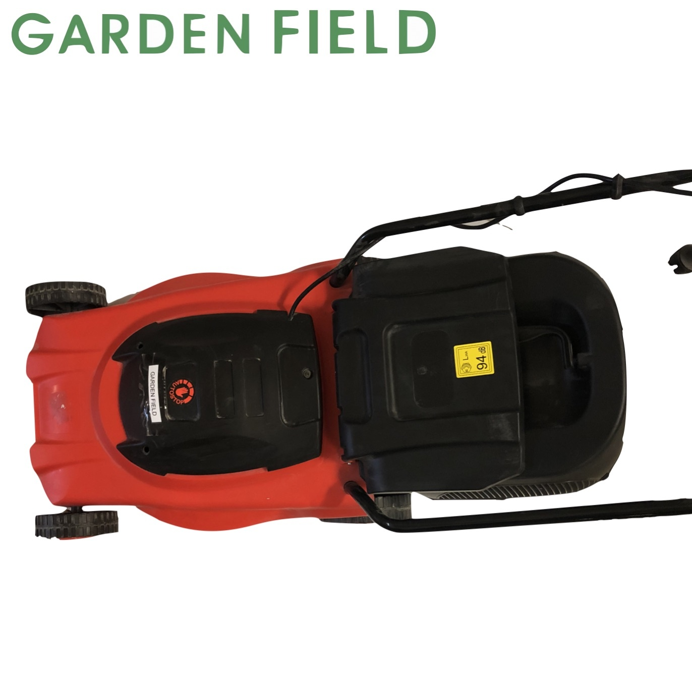 Garden Field Elektrische Grasmaaier 1000W met 30L opvangzak