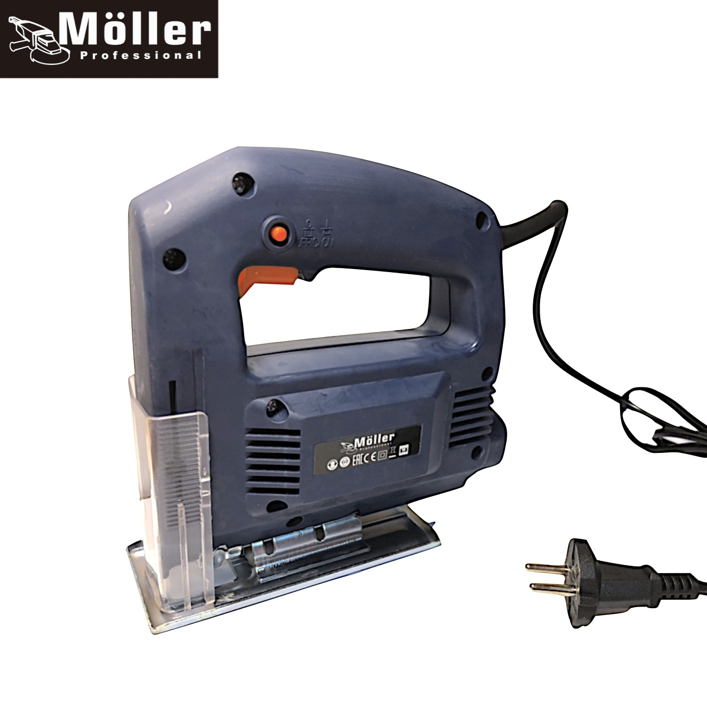 Möller Multitool 3-in-1 Klopboormachine + Haakse Slijper + Figuurzaag incl. Accessoires