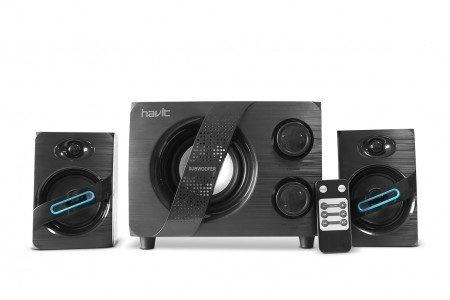 Havit BT Subwoofer Speaker-systeem Draadloos incl. afstandsbediening BTS/FM/USB/MP3