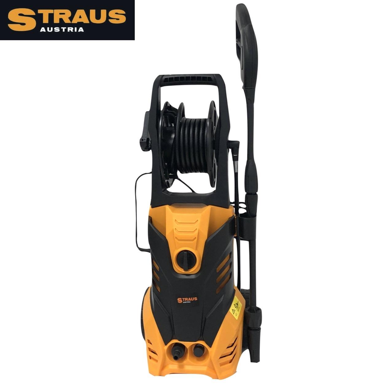 Straus Hogedrukreiniger + 7 accessoires 3500W 6L/min 5m