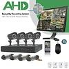 AHD Analoog CCTV Bewakingssysteem met 4 Camera's + DVR 720p