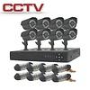 CCTV Bewakingssysteem met 8 Camera's en Bewakingscentrum