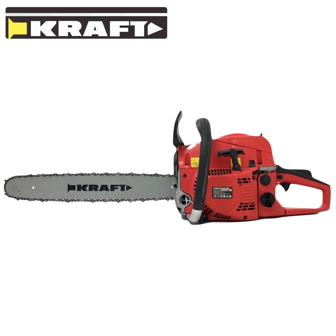 Kraft Benzine Kettingzaag 3,8pK 52cc 2850W 450mm