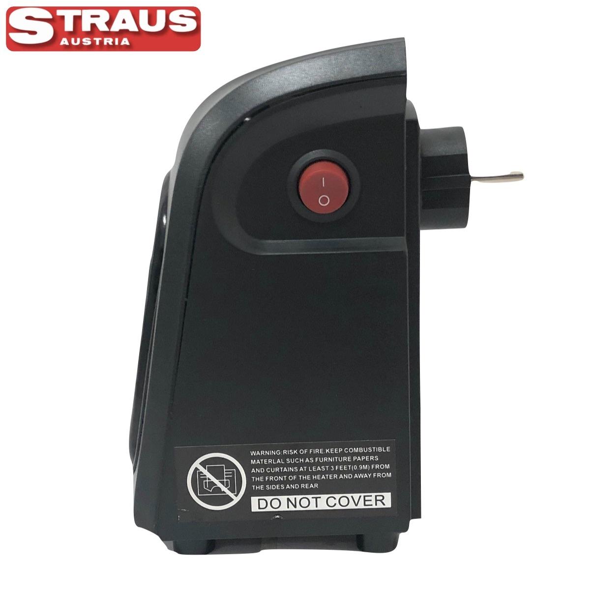 Straus Mobiele Mini-kachel Elektrisch - digitale display 500W