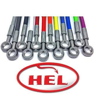 Hel Hel stainless steel brake lines