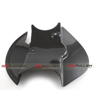 Fullsix Ducati Multistrada 1200 2015- carbon fibre headlight fairing mudflap